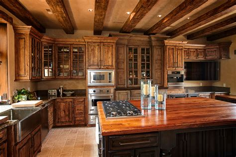kitchen cabinets kansas city rustic beams cabinets custom wood products rustic
