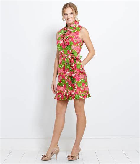 s dresses run for the roses 174 ruffle dress for