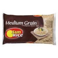 Sunrice Brown Rice Calrose Medium Grain Image in australia 호주마트에서 파는 추천 음식들
