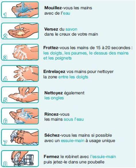 protocole de lavage des mains en cuisine hygi 232 ne le lavage des mains bien se laver les mains