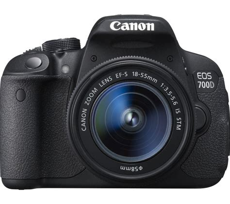 canon dslr buy canon eos 700d dslr with 18 55 mm f 3 5 5 6