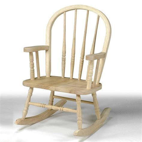 international concepts childrens rocking chair