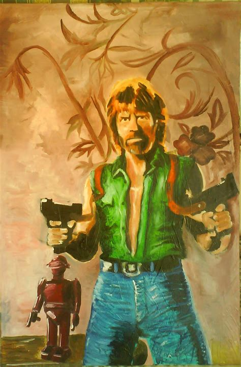 Painting The by Chuck Norris Images Painting Of Chuck Hd Wallpaper And