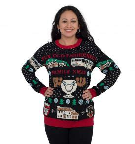 Sweater Happy Smile Fashion Family let s get baked happy gingerbread tacky sweater