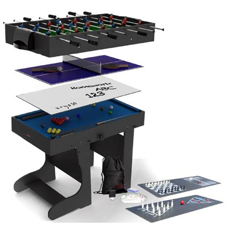 7 foot multi games table 12 in 1 folding 4ft multi games mg12 1f liberty games