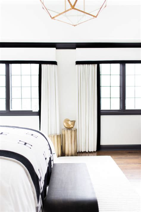 black and white curtains for bedroom black and white curtains eclectic bedroom sherwin