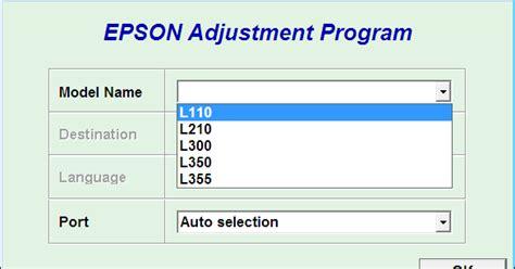 aplikasi resetter epson l210 download resetter epson l110 l210 l300 l350 l355 mudah