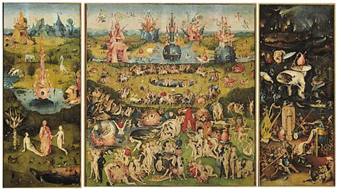 the garden of earthly delights painting by bosch