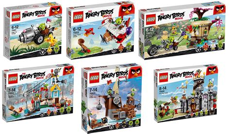 Angry Birds Lego lego angry birds the official pictures i brick city