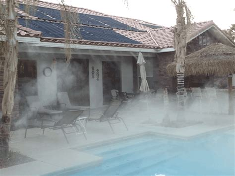 Patio Mist by Las Vegas Patio Misters And Misting Systems