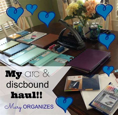 my arc and disc bound haul creatingmaryshome