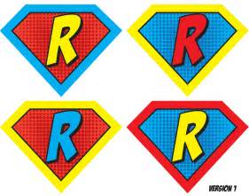 superman alphabet template 9 best images of free printable letters