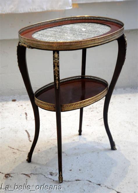 antique l tables sale lxv occasional tea table inset marble l k