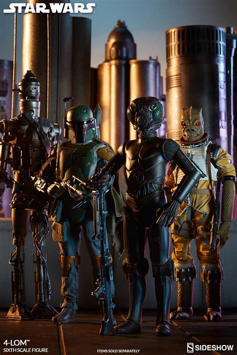 4 lom figure wars 4 lom sixth scale figure preview by sideshow