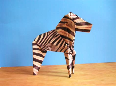 Zebra Origami - animal origami by joost langeveld reviewed at farmers