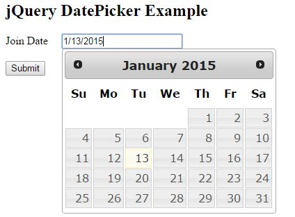 asp net mvc 4 jquery datepicker date format validation jquery ui datepicker exles in mvc www dotnetmentors com