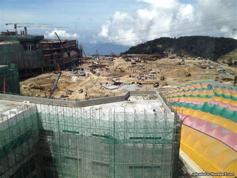theme park updates 20th century fox world malaysia construction updates