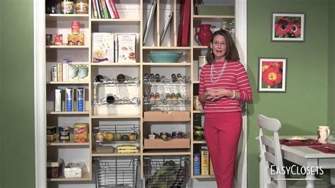 Kitchen Pantry Storage Ideas by Diy Organizing Ideas Closet Pantry Laundry Room Youtube