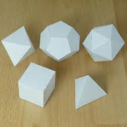 How To Make Geometric Shapes With Paper - 25 best ideas about 3d paper on 3d paper