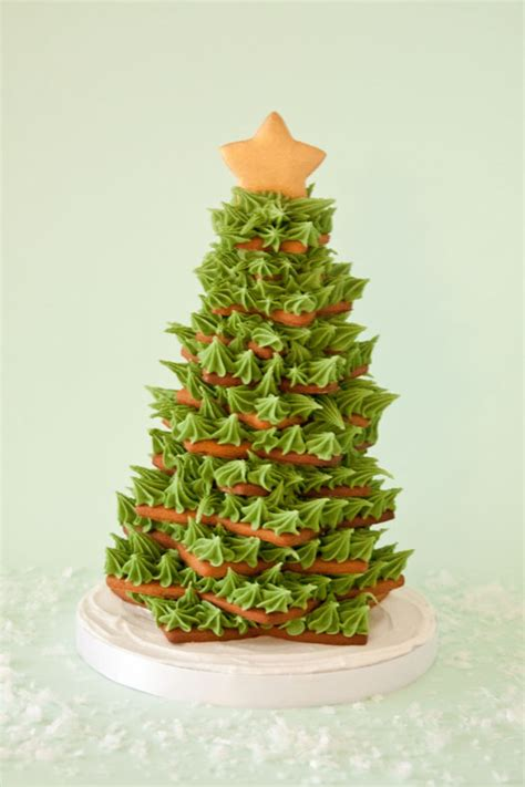 how to make cookie christmas tree cake for kids how to make a gingerbread cookie tree cakejournal