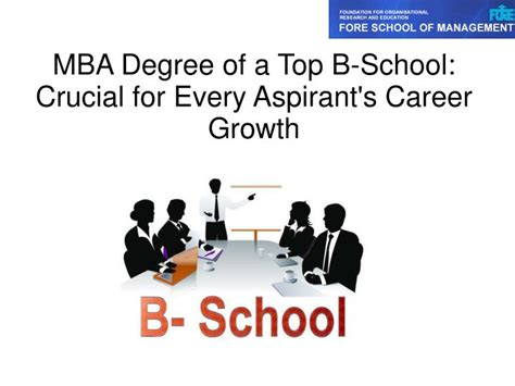 Mba Helps Career Growth by Ppt Mba Degree Is Crucial For Every Aspirant S Career