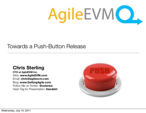 push button release towards a push button release