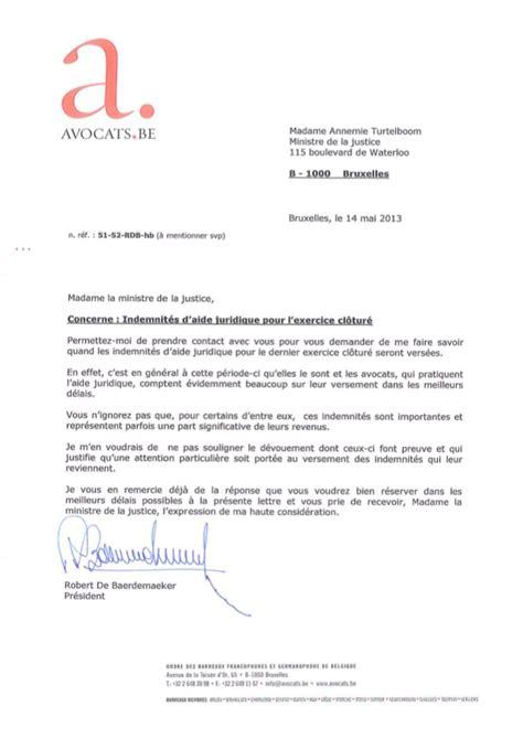 Demande De Lettre D Accueil Université Aide Juridique Lettre 224 Mme Turtelboom