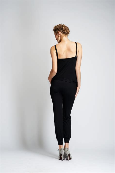 Jumpsuit Black Bangkok maternity jumpsuit maternity all in ones lulibelle