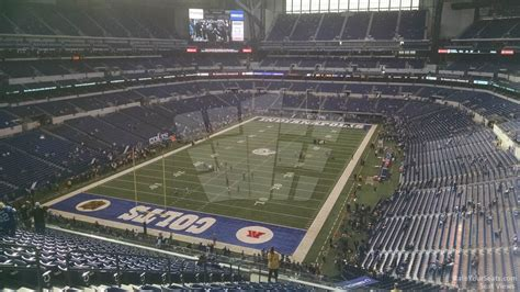 lucas oil stadium sections lucas oil stadium section 450 indianapolis colts