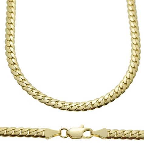 miami cuban gold chain 24 quot 5mm chains