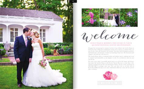 Wedding Rental Brochure by Weddings Keeler Tavern Museum