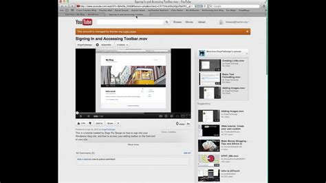 wordpress tutorial embed youtube video how to embed video with jetpack in wordpress mov youtube