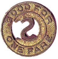 1 fare colorado springs co colorado tokens numista