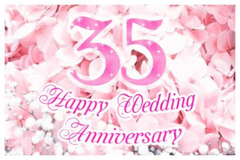 Happy 35th Wedding Anniversary (Coral Anniversary) ecards