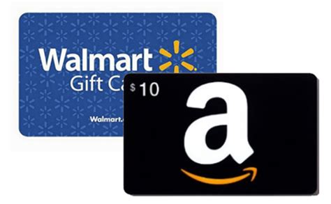 Can I Use Amazon Gift Card At Walmart - free 10 walmart or amazon gift cards simple coupon deals