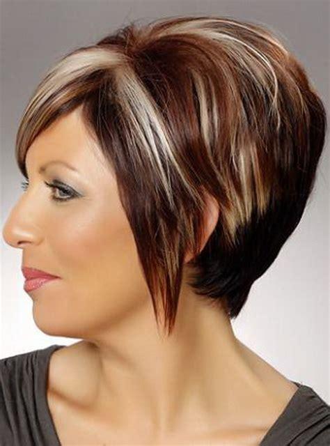 photo of hair style wedge wedge haircut
