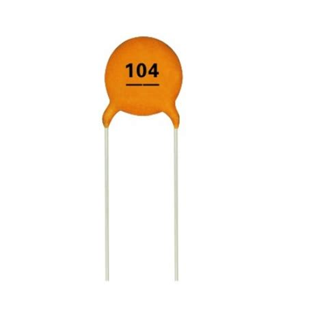 capacitor 100nf 0 1uf multi layer ceramic disc capacitor 104 ct4 0805y104m500