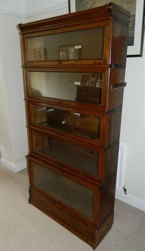 The Globe Wernicke Co Sectional Bookcase globe wernicke sectional bookcase 177545 sellingantiques co uk