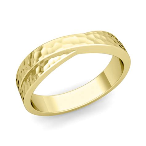 infinity mens wedding band infinity wedding band mens wedding ring in gold or platinum