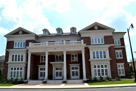 alabama frat houses total sorority move alabama s upgraded sorority row