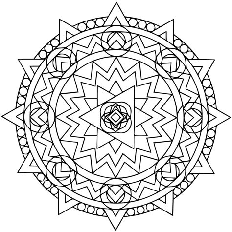 intermediate mandala coloring pages coloriages mandala chinois adultes