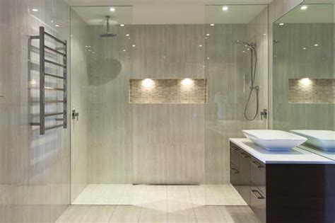 Modern Bathroom Tiling Ideas Bloombety Modern Bathroom Tile Designs With Lighting