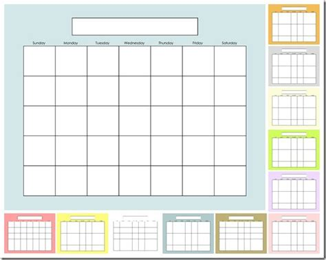 make your own printable monthly calendar blank calendar solids make your own dry erase calendar