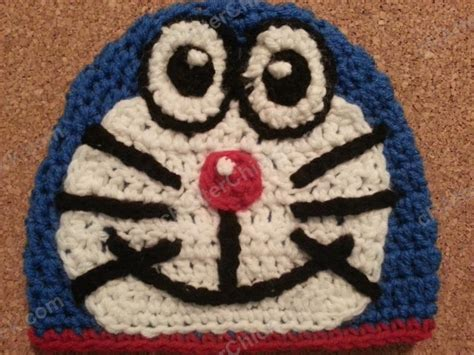 pattern crochet doraemon doraemon the anime cat crochet character hat the yarn