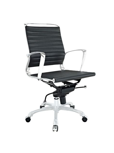 Instant Chair by Instant Planner Low Back Office Chair Brickell Collection