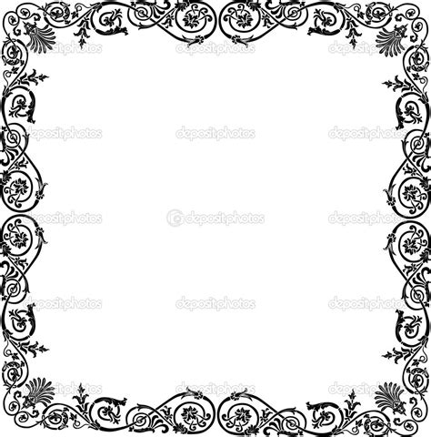 frame design black and white simple frame designs clipart panda free clipart images