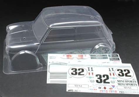 tamiya   rc rover mini cooper racing body
