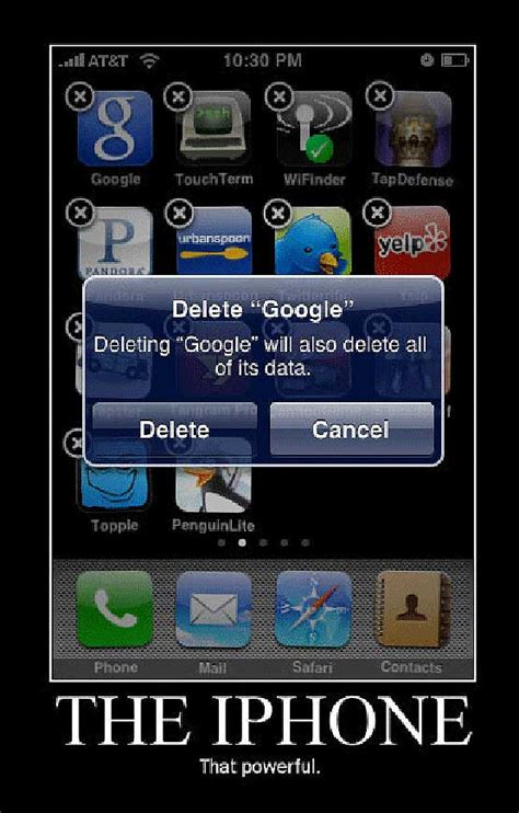 iphone jokes iphone conquers