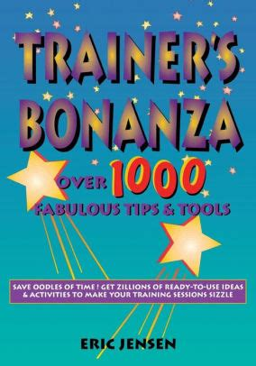 1000 Images About Fabulous trainer s bonanza 1000 fabulous tips tools edition 1 by eric p 9781890460037