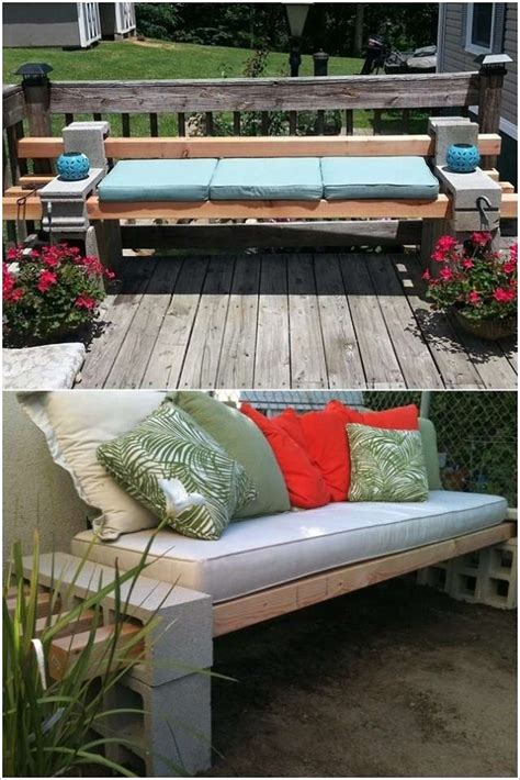 concrete block bench 10 cool ideas to decorate your home with concrete blocks